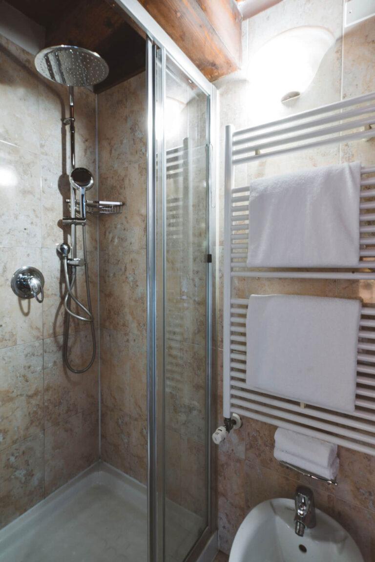Bagno doccia Ca' Amadi Deluxe Vista Canale